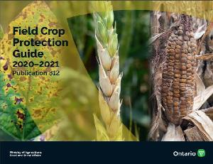 Image of the cover of publication titled  Field Crop Protection Guide 2020–2021: Publication 812