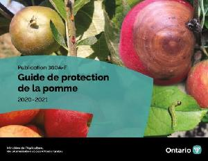Image of the cover of publication titled PublicationPublication 360A-F: Guide de protection de la pomme, 2020–2021